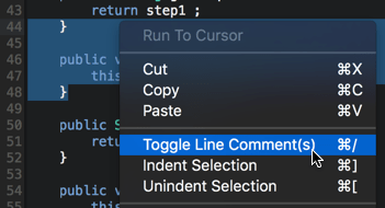 Toggle comments