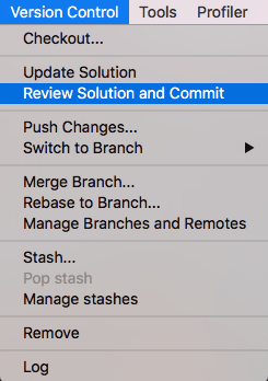 Version Control options